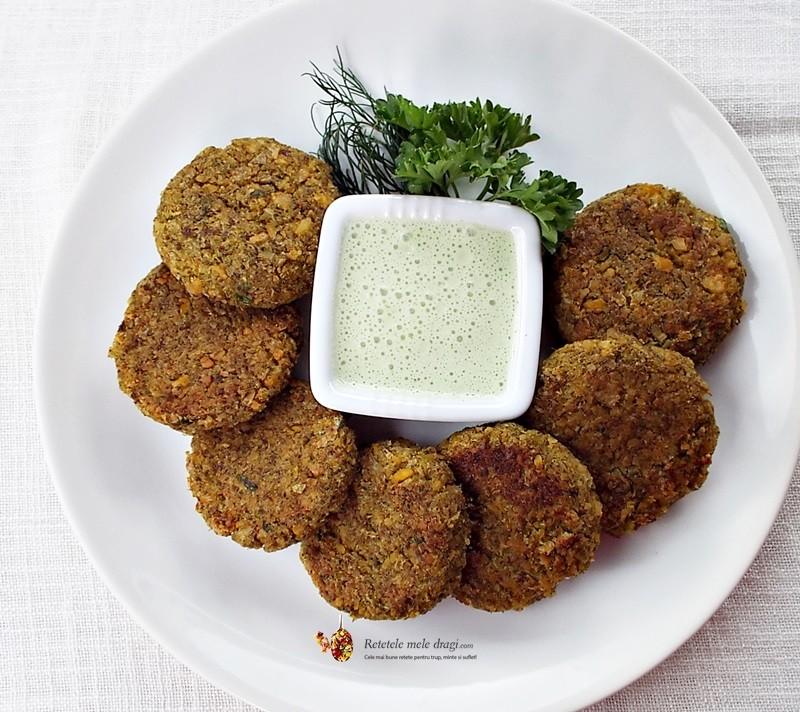 Chiftelute de naut cu broccoli1