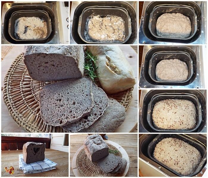 paine rustica fara gluten preparare