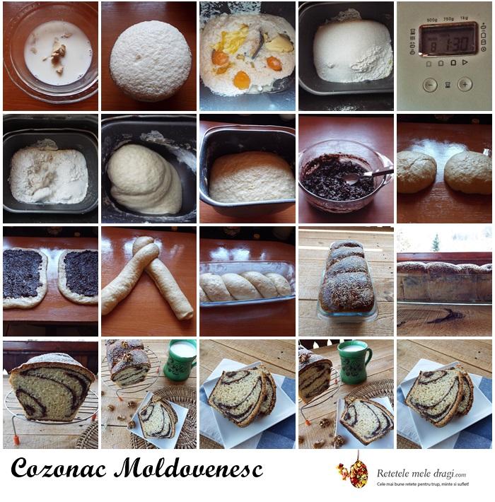 cozonac moldovenesc preparare