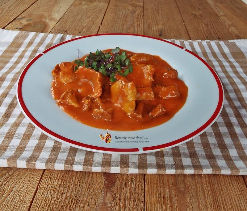 galbiori cu sos de rosii1