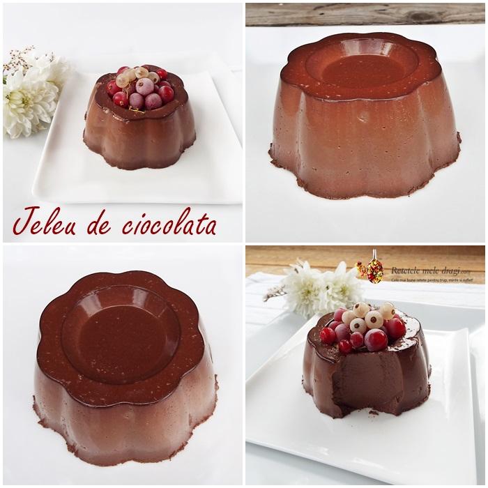jeleu de ciocolata