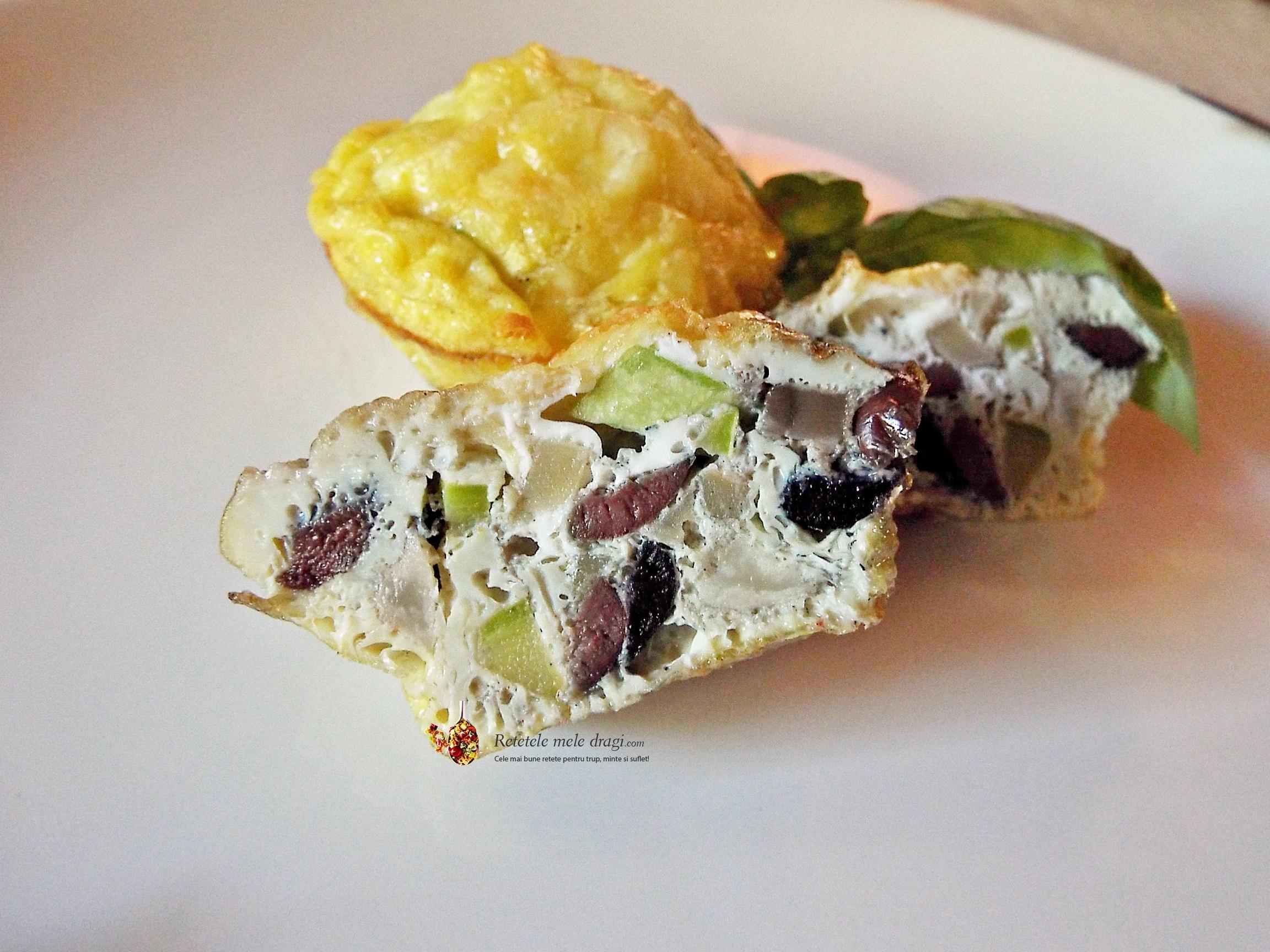 Mini omleta la cuptor2