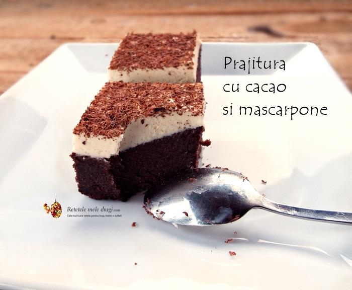 Prajitura cu cacao si mascarpone1