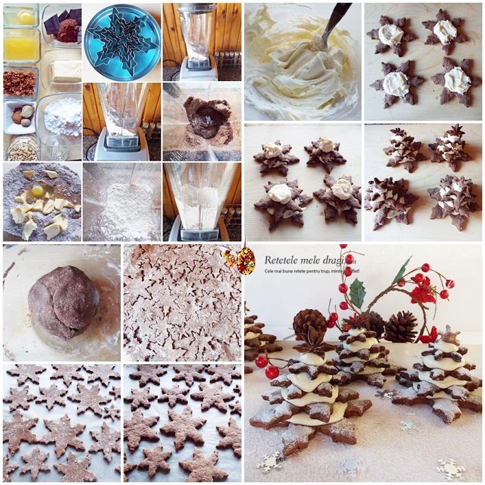 fursecuri de Craciun cu ciocolata preparare