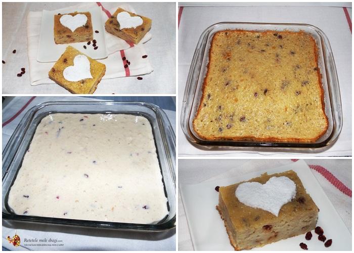 prajitura rapida cu mere preparare