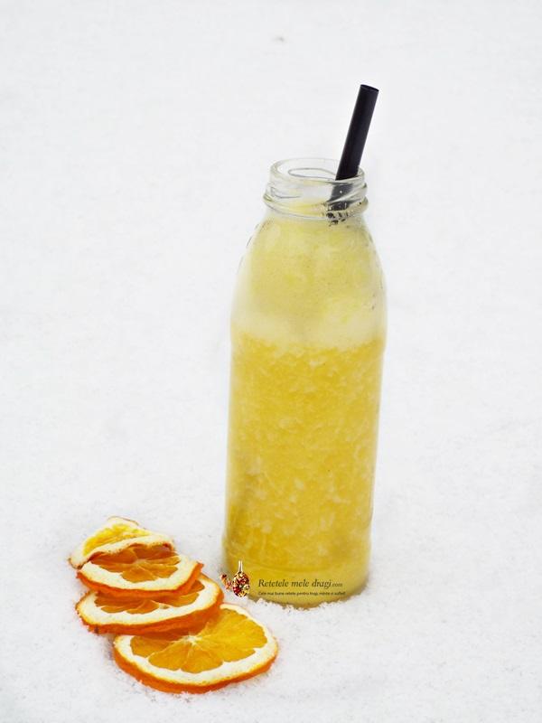 smoothie de ananas cu portocale