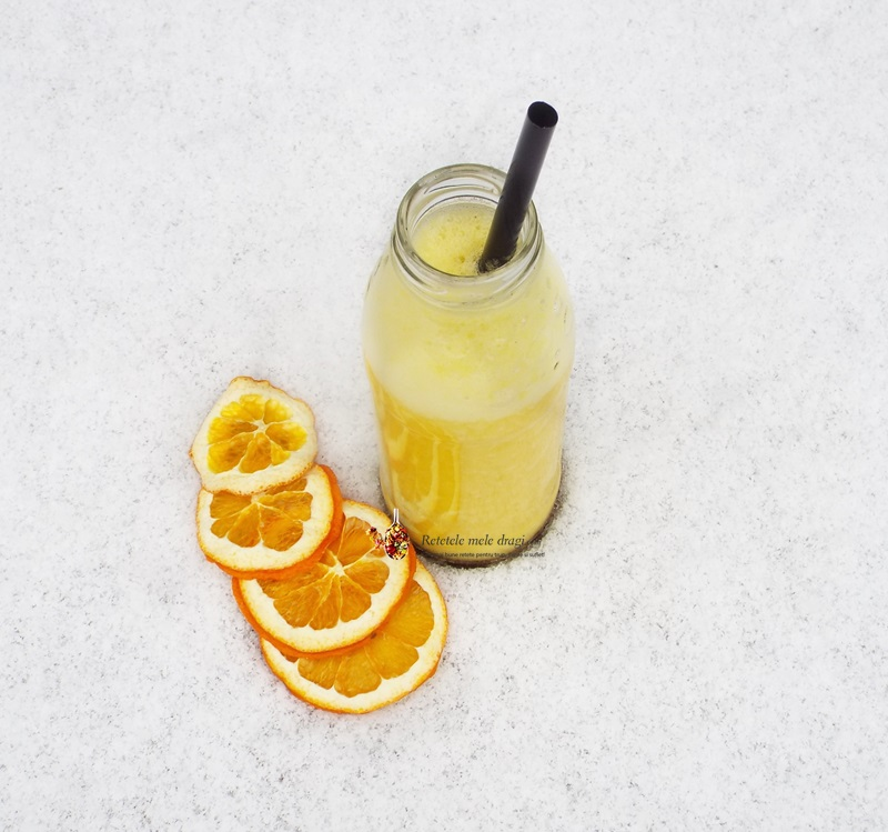 smoothie de ananas cu portocale1