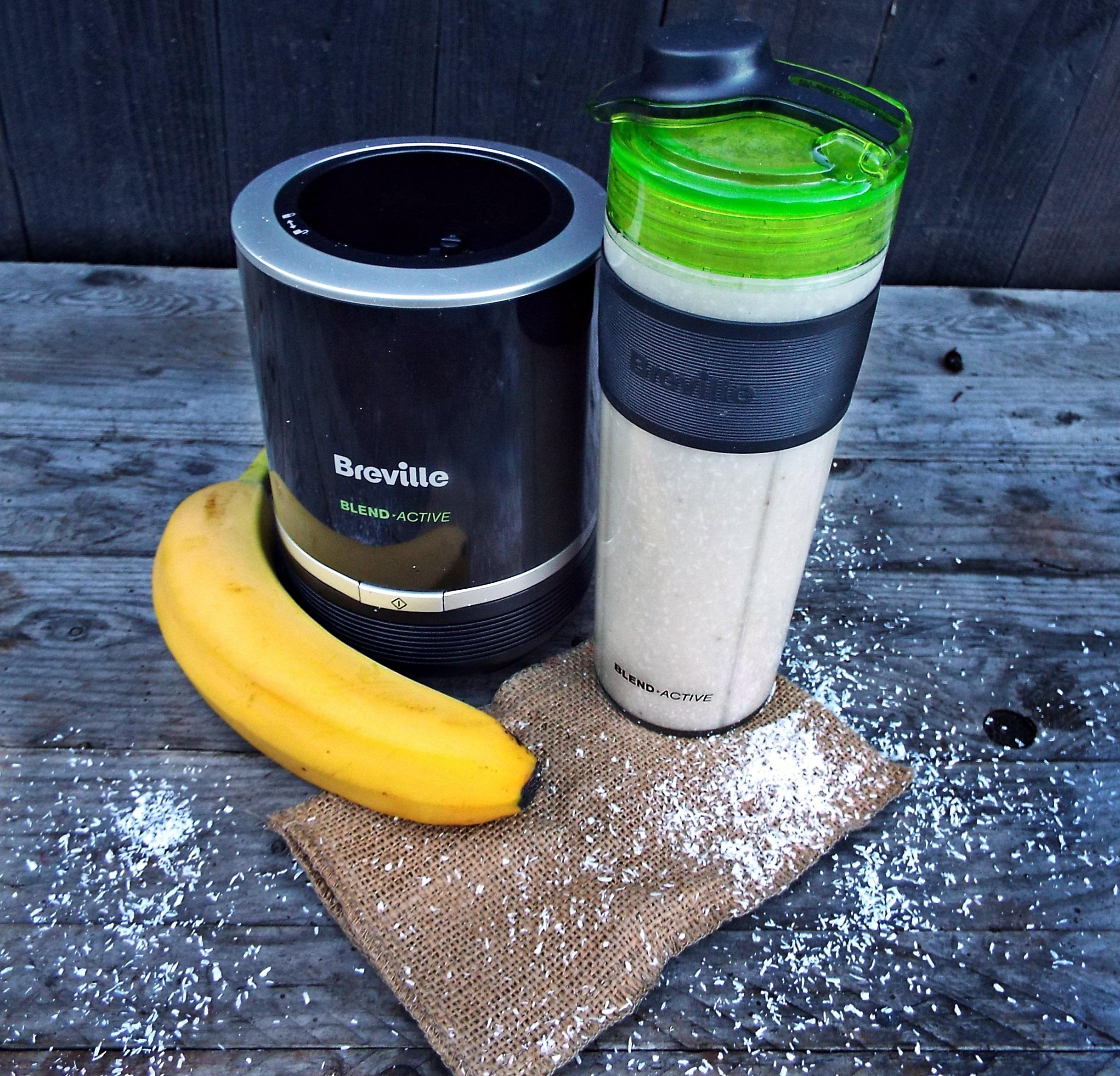smoothie de banane cu cocos