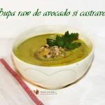 supa raw de avocado si castravete