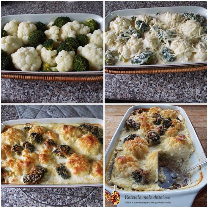 conopida si broccoli gratinate preparare