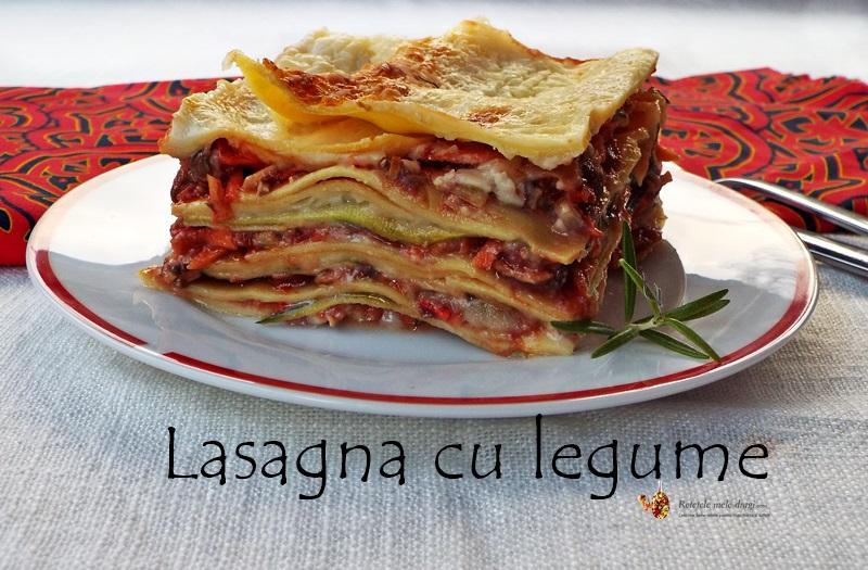 lasagna cu legume 1