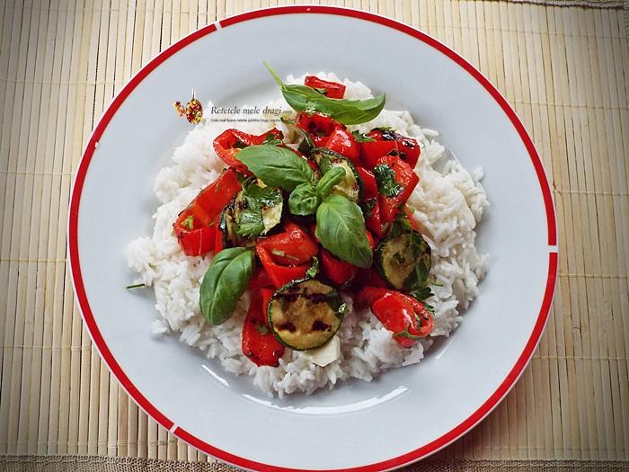 salata calda de legume la gratar 1