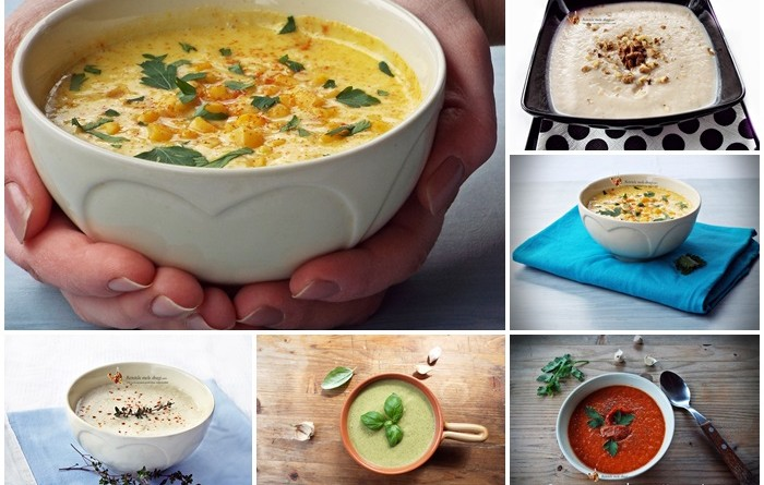 5 retete de supa crema de post