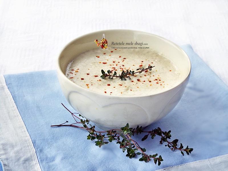 supa crema de conopida coapta si chimion