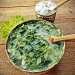 Mancare de linte verde cu piure de telina–o reteta de 2 Euro