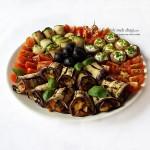 platou cu aperitive vegetariene