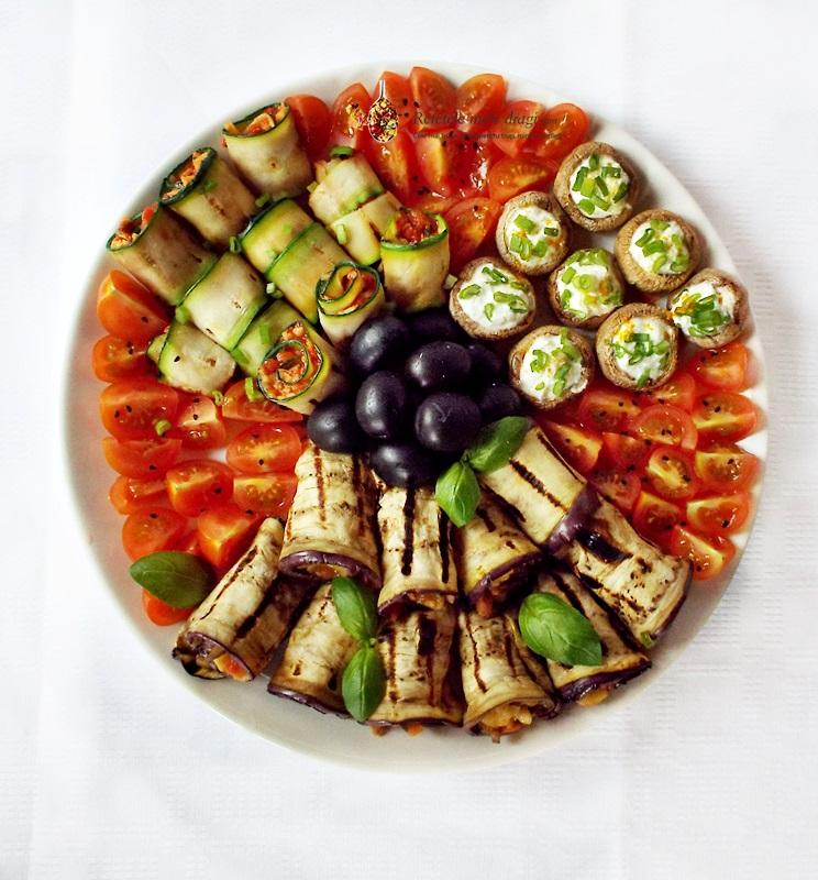 platou cu aperitive vegetariene2