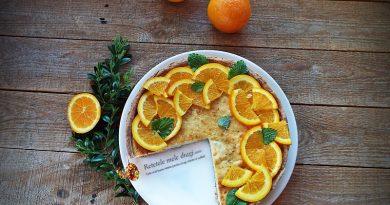 tarta cu branza si portocale 0