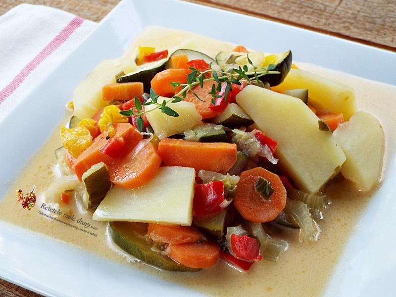 tocanita de legume in lapte de cocos 1