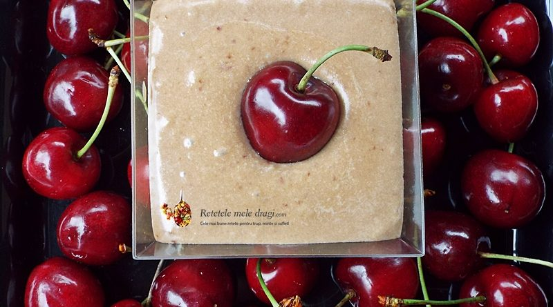 crema de branza dulce cu cirese 1