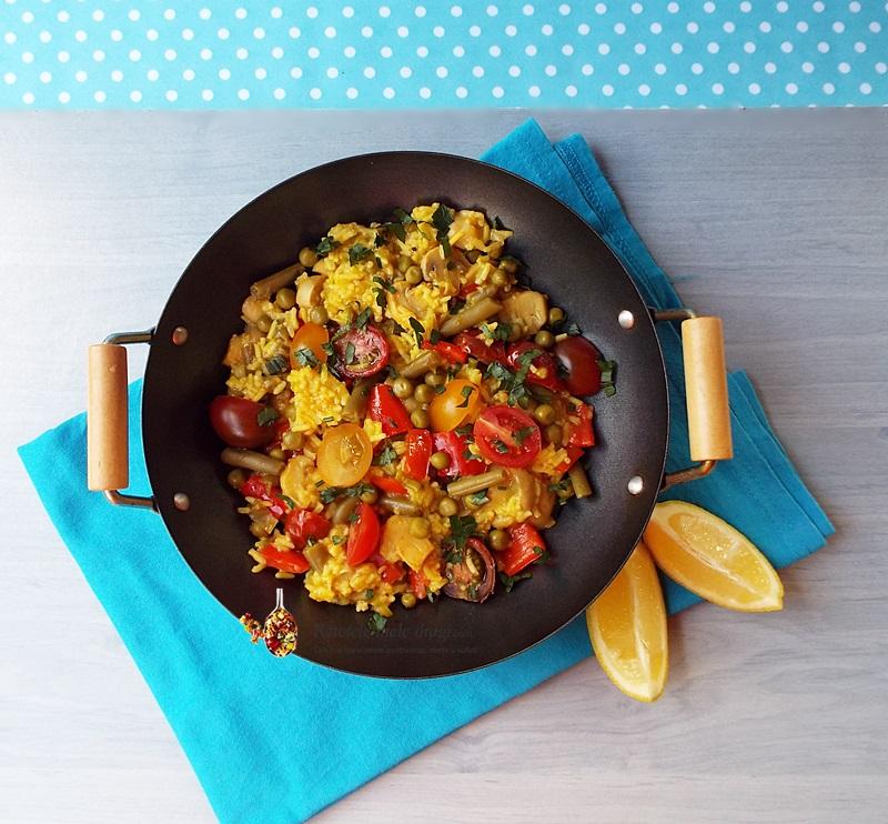 paella vegetariana 2
