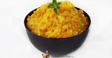 quinoa cu morcov si turmeric
