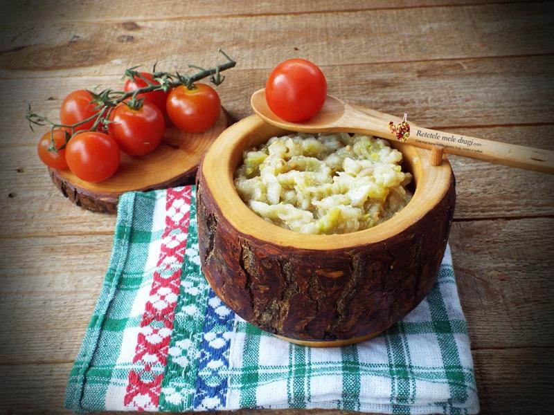 salata de vinete cu dovlecei la borcan 1
