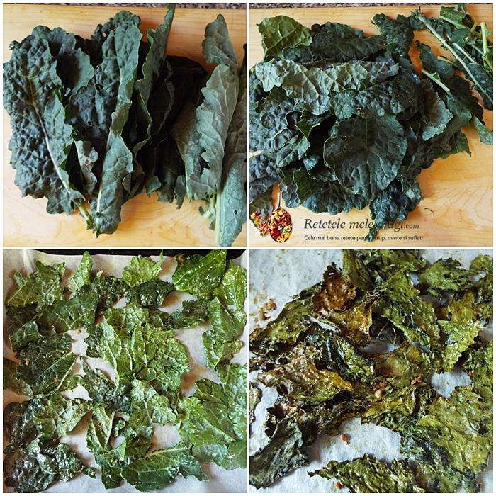 chipsuri din Kale preparare