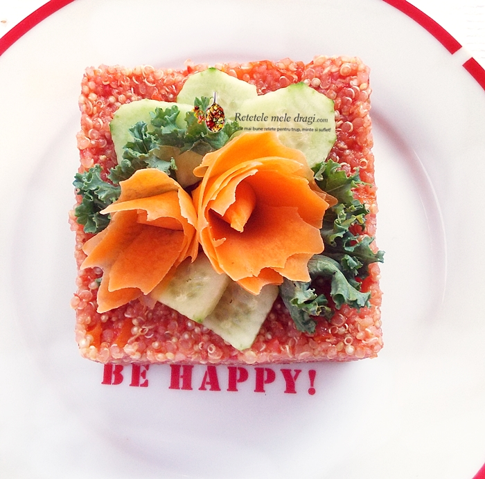 quinoa cu rosii si morcov 1