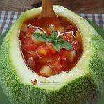 Salata de legume curcubeu cu haloumi–Reteta Video