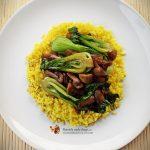 Maioneza vegana din orez si turmeric in Optimum 9200A–Reteta Video