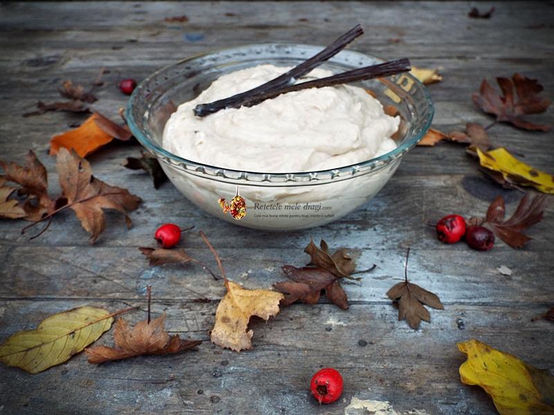 Crema de castane cu mascarpone