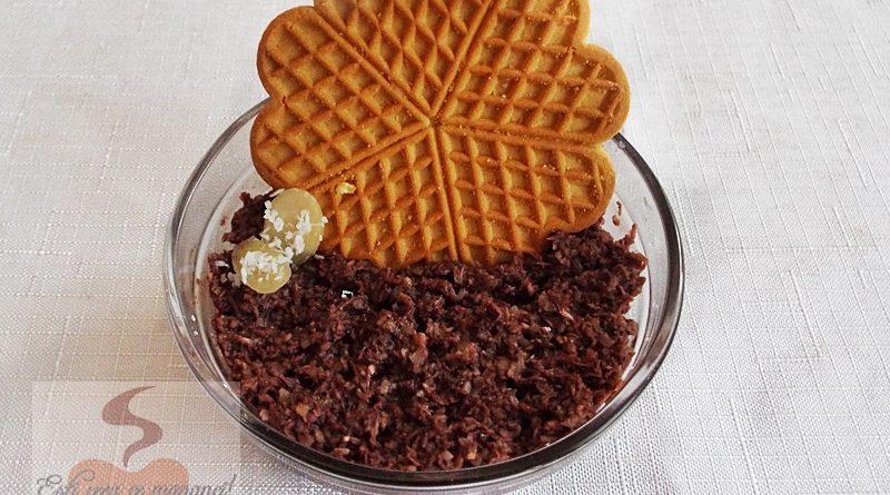 Pasta de migdale cu cocos si cacao