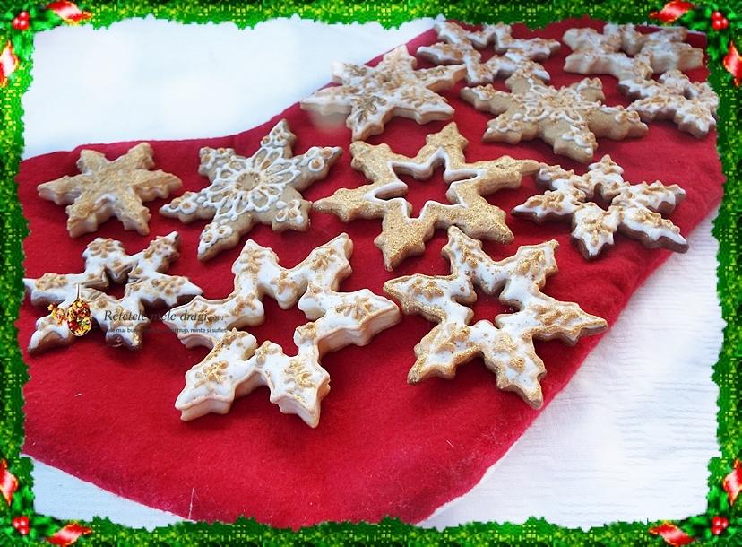 Biscuiti de Craciun cu cocos 1