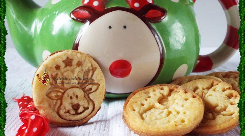 Biscuiti fragezi cu branza de vaci