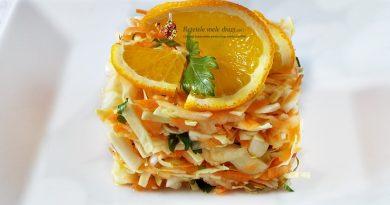 salata de varza cu morcov si mar Vitamina C 1