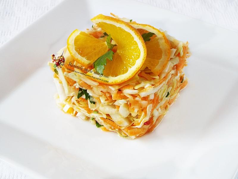 salata de varza cu morcov si mar Vitamina C