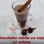 ciocolata calda cu caju si miere