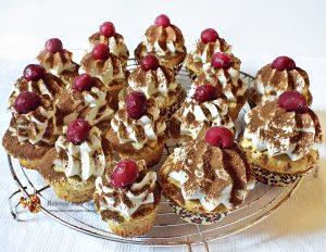 cupcakes tiramisu cu visine 2