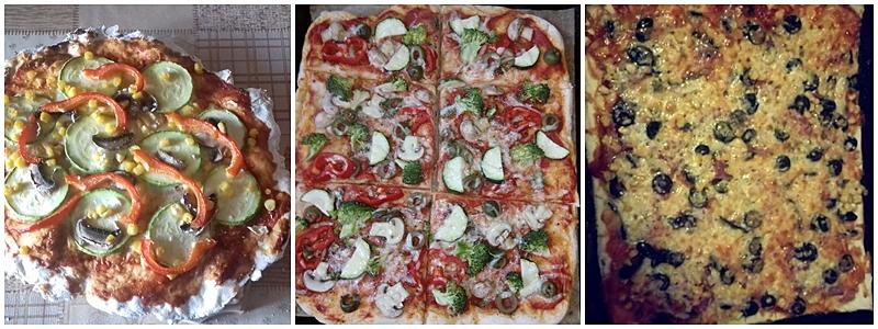 Pizza rapida fara coacere facuta de copii