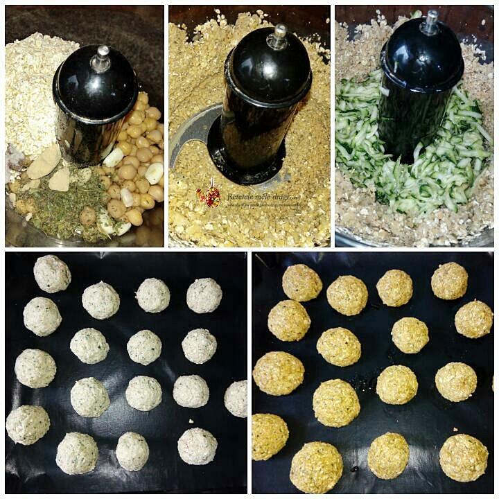 chiftelute de post cu dovlecei preparare