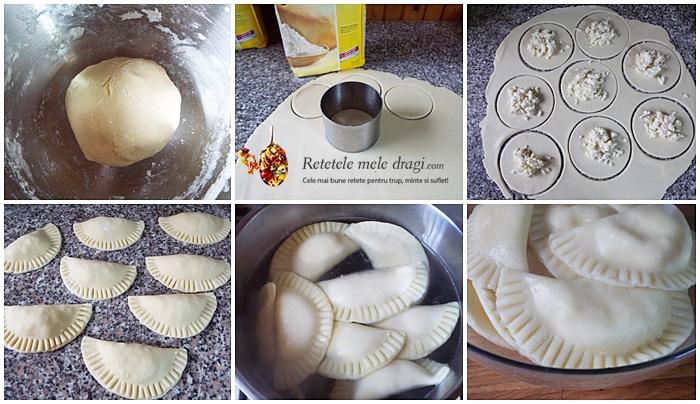 coltunasi fara gluten cu branza si smantana preparare