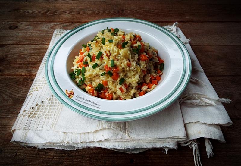 orez cu legume si unt 1