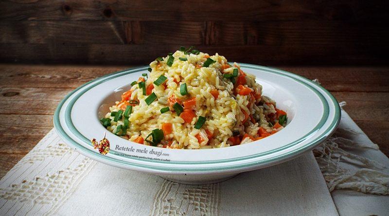 orez cu legume si unt