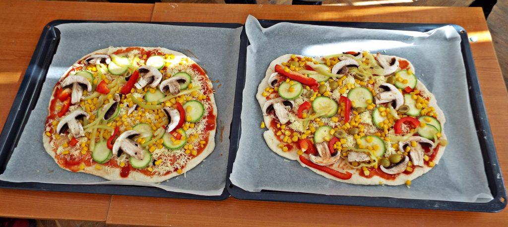 pizza rapida fara dospire cruda