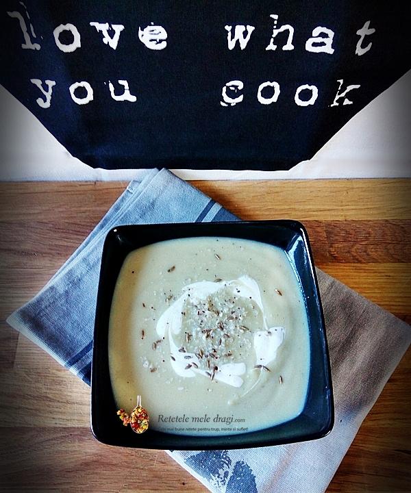 supa crema de conopida si cocos 2