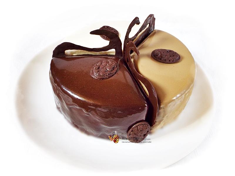 tort fara gluten cu ciocolata si zmeura
