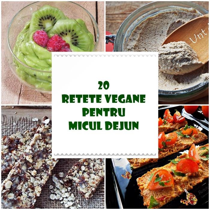 20 retete vegane pentru micul dejun