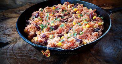Quinoa in stil mexican
