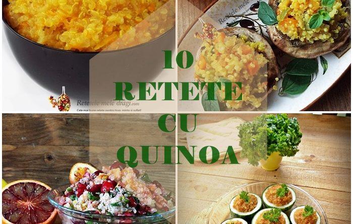 10 retete cu quinoa